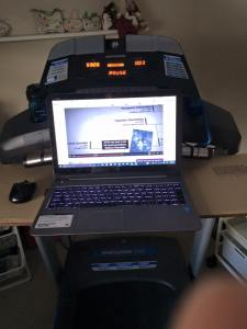 Treadmill desk1
